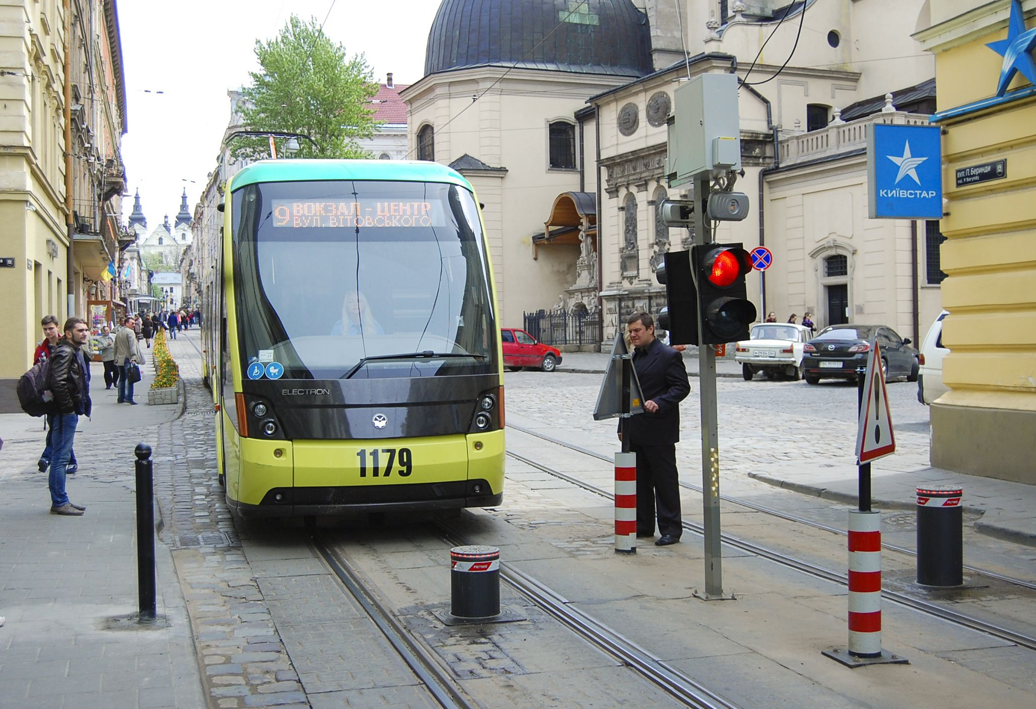Parking management_tram